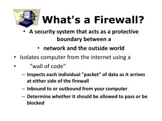 What's a Firewall?