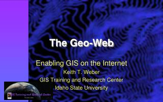 The Geo-Web