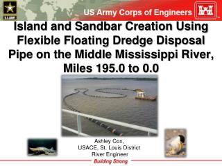 Ashley Cox,  USACE, St. Louis District  River Engineer