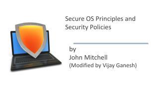 by  John Mitchell (Modified by Vijay Ganesh)