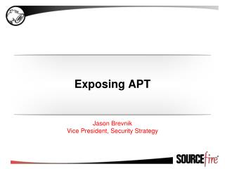 Exposing APT