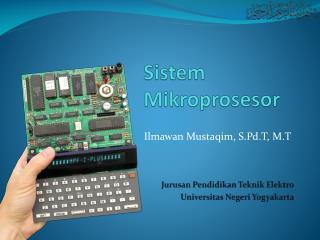 Sist e m Mikroprosesor