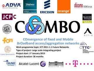 COnvergence  of fixed and Mobile  BrOadband  access/aggregation networks