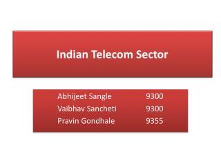 Abhijeet Sangle 9300 Vaibhav Sancheti 9300 Pravin Gondhale 9355
