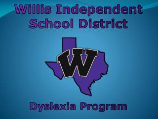 Dyslexia Program