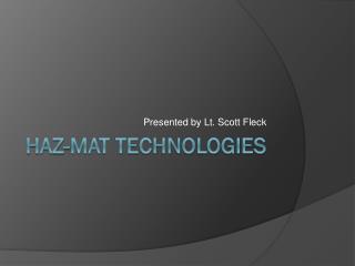 Haz -Mat Technologies