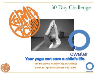 Your yoga can save a child