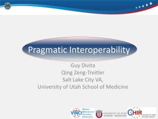 Guy  Divita Qing  Zeng- Trei tler Salt Lake City VA, University of Utah School of Medicine