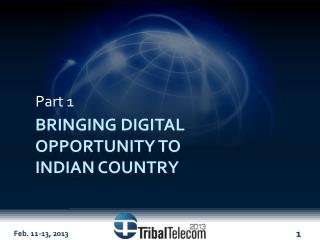 Bringing digital opportunity to  Indian country
