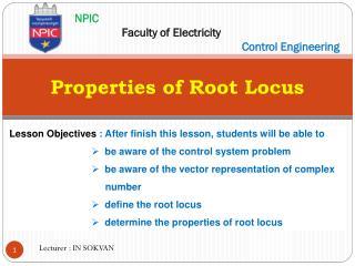 Properties of Root Locus