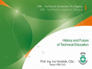 History  and  Future of Technical Education