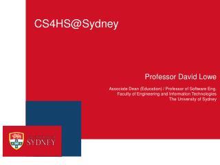 CS4HS@Sydney