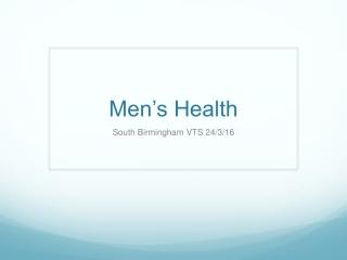 Management of testicular cancer