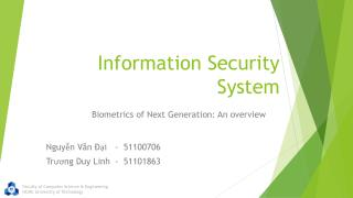 Information Security System