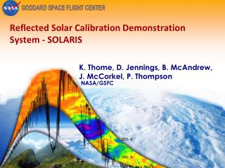 Reflected Solar Calibration Demonstration System - SOLARIS