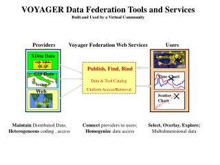 VOYAGER Data Federation Tools and Services  Built and Used by a Virtual Community