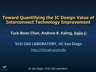 Toward Quantifying the IC Design Value of Interconnect Technology Improvement