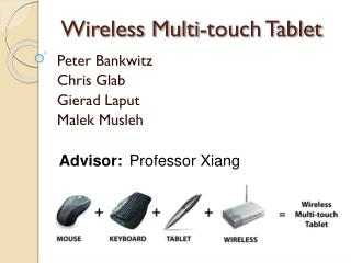 Wireless Multi-touch Tablet