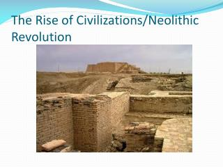 The Rise of Civilizations/Neolithic Revolution