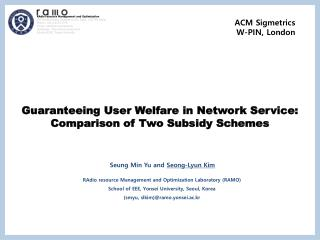 Guaranteeing User Welfare in Network Service: Comparison of Two Subsidy Schemes