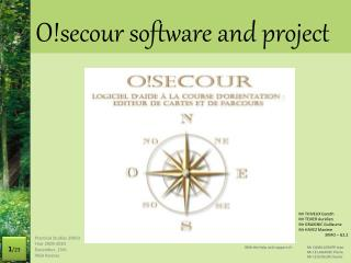 O!secour  software and project