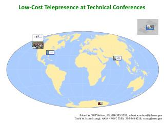 Low-Cost Telepresence  at Technical Conferences