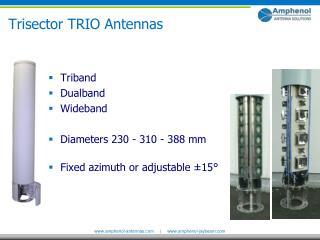Trisector TRIO Antennas
