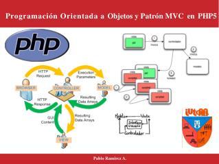 Programación Orientada a  Ob j e t o s  y Patrón MVC e n P H P 5