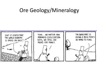 Ore Geology/Mineralogy