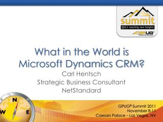 What in the World is Microsoft Dynamics CRM?