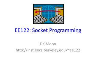 EE122: Socket Programming