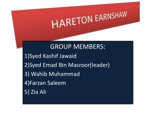 HARETON EARNSHAW