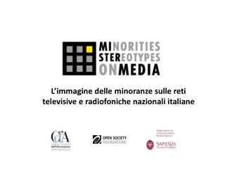 L'immagine delle minoranze sulle reti televisive e radiofoniche nazionali italiane