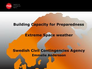 Building Capacity for Preparedness