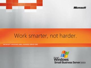 Small Business Server and Windows SharePoint Services