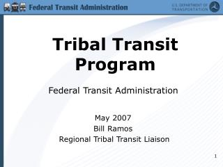 Tribal Transit Program