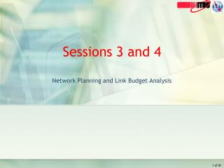 Sessions 3 and 4