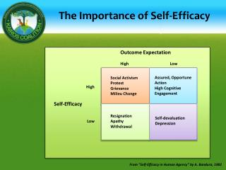 The Importance of Self-Efficacy