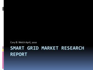 Smart Grid Market Research Report