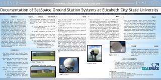 Documentation of  SeaSpace  Ground Station Systems at Elizabeth City State University
