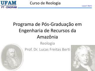 Programa de Pós-Graduação em Engenharia de Recursos da Amazônia