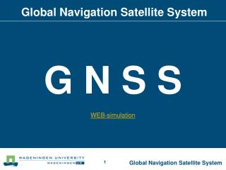 Global Navigation Satellite System