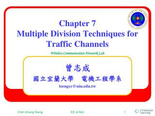 Chapter 7 Multiple Division Techniques for Traffic Channels