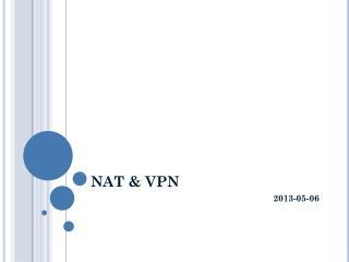NAT & VPN