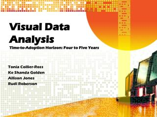 Visual Data Analysis Time-to-Adoption Horizon: Four to Five Years