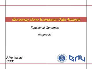 Microarray Gene Expression Data Analysis