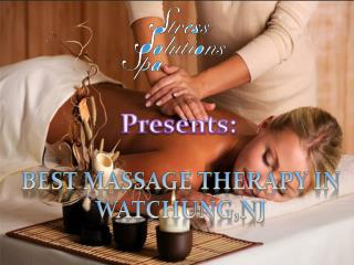 Best Massage Therapy NJ