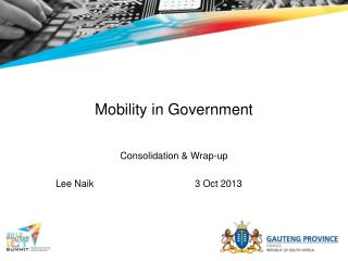 Mobility in Government