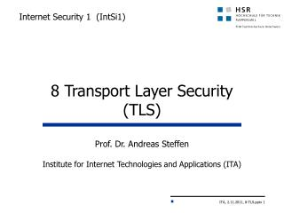 Internet Security 1  ( IntSi1 )