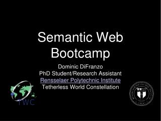 Semantic Web  Bootcamp